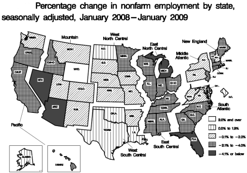 change-in-employment-by-state-jan-08-jan-09