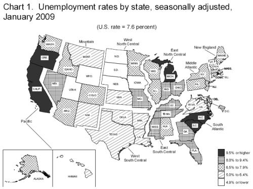 unemployment-map-jan-2009