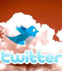 twitter red background